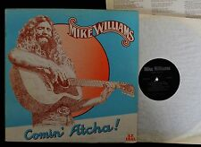 RARE PRIVATE FOLK ROCK Mike Williams BF Deal 12 Comin' Atcha