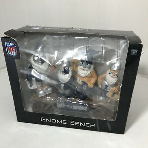 NEW ENGLAND PATRIOTS NFL Gnome Bench Forever Collectibles Holiday Gift