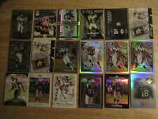(57) TOPPS PANINI UD RANDY MOSS SERIAL NUMBERED REFRACTOR CARD LOT ST1419