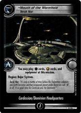 Star Trek CCG 2E Promo Mouth Of The Wormhole, Terok Nor FOIL 0P50