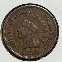 1898 1C Indian Cent (51467)