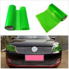 100cm x 30cm Gloss Green Auto Headlight Tint Vinyl Wrap Film Sheet Cover Sticker