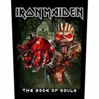 "IRON MAIDEN - ""EDDIE'S HEART"" BOOK OF SOULS - LARGE SIZE - SEW ON BACK PATCH"