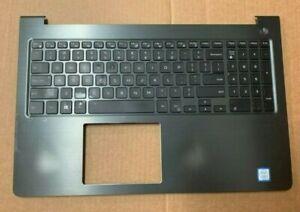 OEM Dell Vostro 15 5568 V5568 Palmrest Gray US/EN Backlit Keyboard P/N HJP49