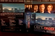 LAW & ORDER: CRIMINAL INTENT The First Year 22 episodes (ALL REGIONS 6 DVDs)