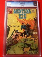 """KID MONTANA #47"" CHARLTON COMICS 1964 WESTERN (CGC 1.8)"