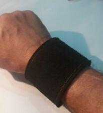 heavy metal/biker/black suede 210mm-225mm wrist size #150