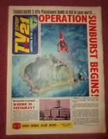 TV 21 #88 CENTURY FIREBALL XL5 STINGRAY THUNDERBIRDS DALEKS COLOUR DR WHO