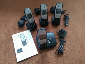 CORDLESS TELEPHONE 4 HANDSETS GIGASET A415
