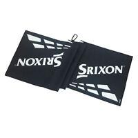 Srixon Z85 SRX Tour Golf Towel White/Black - New 2019
