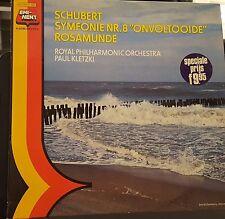 EMI-NENT 5 C 045-01 660 Schubert Symfonie No.8 Onvoltooide Rosamunde Kletzki NM