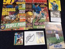 Portsmouth Football Autographs Collection Photos Original Signed Signatures x7