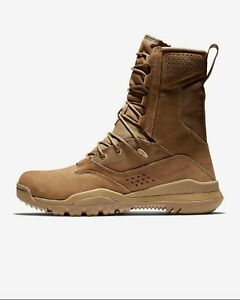 """New Nike SFB 2 8"""" Leather Tactical Combat Boots Mens Size 14 Coyote AQ1202-900"""