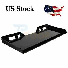 516 In Skid Steer Mount Plate Quick Attachment Tractor Adapter Attach Plate
