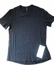 NWT LULULEMON Mens 5 Year Basic T Shirt size S Black Vitasea Run Gym Sports Tee