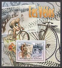 CYCLING:2012 BURUNDI Cycling Miniature Sheet  SG- MNH