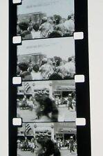 OREGON TRAIL DAYS PARADE HOME MOVIE B&W 16MM FILM ROLLED NO REEL E57