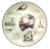 Wedgwood Birdwatchers Notebook The Collared Dove Eric Robson Bird Plate
