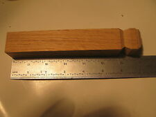 "Oak Outside Base Corner 1-1/8"" x 1-1/8"" x 7"" Unfinished Base Trim (900)"