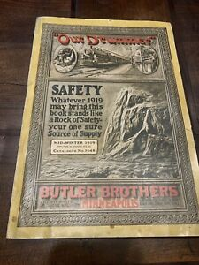 Butler Brothers Catalog Mid Win 1919 409 pgs.-Our Drummer No. 1648