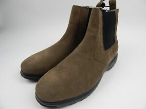 Baffin Bahamas Lightweight Breathable Tobacco Suede Chelsea Boots Men's 11 New
