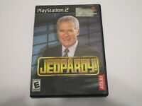 Jeopardy (Sony PlayStation 2, 2003) Used Complete PS2 Very Good Condition