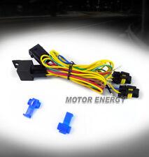 9006 FOG LIGHTS LAMPS WIRING HARNESS KIT FOR 06+ VW GOLF JETTA PASSAT CC MK5 MK6