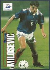 PANINI WORLD CUP 98- #091-YUGOSLAVIA & ASTON VILLA-SAVO MILOSEVIC