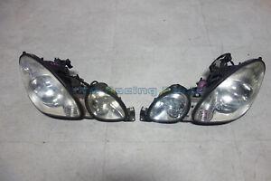 Lexus GS300 GS400 GS430 OEM Headlights Head lights lamps pair jzs161 1998-2005