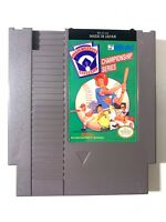 Little League Baseball ORIGINAL NINTENDO NES GAME Tested WORKING Authentic!