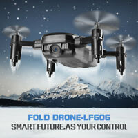 New Sales LF606 Drone with Camera Wifi FPV Mini Quadcopter Foldable RC Drones BL