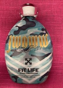 NEW 2021 JWOWW FIT LIFE Dynamic Dark Intensifier Tanning Lotion 13.5oz 100% Auth