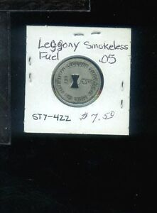 CR) Coal Scrip Leccony Smokeless Fuel Co R-6 5 cent Besoco WV