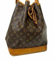 Authentic Louis Vuitton Monogram Noe Shoulder Bag M42224 LV E-1219 Junk