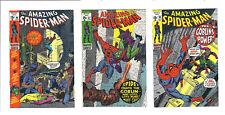 AMAZING SPIDER-MAN   #96  #97   #98 GREEN GOBLIN high grade