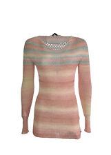 PINKO  t-shirt donna con scollatura a mezzaluna bicolore made in Italy