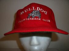 BULLDOG QUARTERBACK CLUB Trucker Hat Baseball Cap Unique Retro Rare Cool