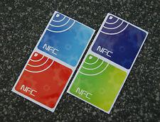 NFC día 4er set omingo 203 sticker/pegatinas: Action etiquetas para todos los dispositivos NFC!!!