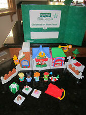 Fisher Price Little People Christmas Main Street Town NEW 2013 Holiday Sleigh