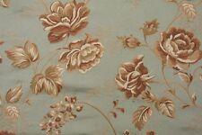 "Bty Claridge Lorena Seaspray Floral Tapestry Drapery Upholstery Fabric 54"" wide"