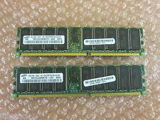 Samsung 2 GB (1 GB x 2) Modulo di memoria RAM-PC2100R-20331 - M312L2828DT0