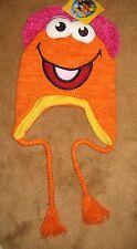 Fraggle Rock Gobo Knit Winter Pilot Hat Cap Muppets