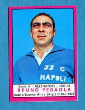 CALCIATORI PANINI 1967-68-Figurina-Sticker - PESAOLA - ALLENATORI -Recuperata