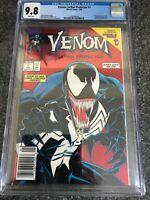 Venom: Lethal Protector 1 (1993) CGC 9.8. Rare Newsstand Variant 1st Venom