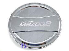 Chrome Oil Tank Fuel Cab Cover Fit Mazda2 Mazda 2 4Dr Sky Active Sedan 2015 17