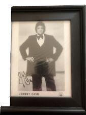 Johnny Cash Photo Signed