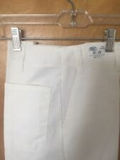 Best Mens Long White chef's Pant Size 40 65%polyester 35%cotton