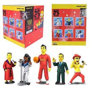 "Neca Simpsons 25th Anniversary Series 1 Display Box of (24) 2"" Figures"