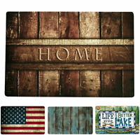 Welcome Letter Funny Doormats Anti-Slip Carpet Bedroom Door Mat Floor Rug Decor