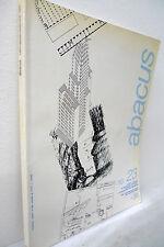 ABACUS 23 1990.Rivista.Tecnica e progetto in architettura e ingegneria[Argentina